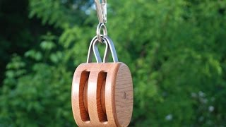 Build a Vintage Block & Tackle Pulley