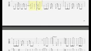 #TABS   Photograph (arr. by Gareth Evans)