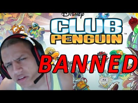 BANNED FROM CLUB PENGUIN