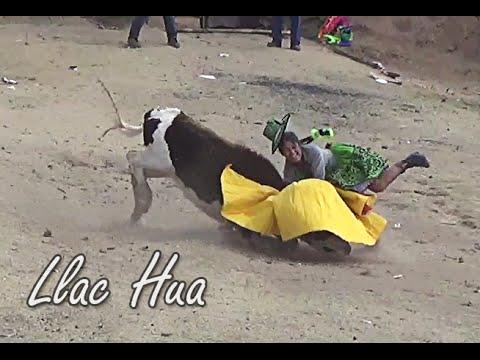 Corrida de toros San Juan de Llac Hua 8 Setiembre 2014