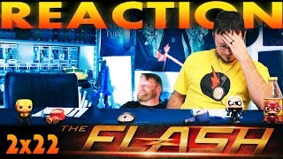 The Flash 2x22 REACTION!!