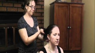 Head and Scalp Oil Massage Part 2