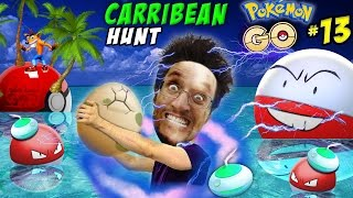 ELECTRIC OCEAN! Pokemon Go Caribbean Trespass Adventure! Incense & 10k Egg (FGTEEV Pt 13 PUNTA CANA)