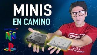 NINTENDO 64 Mini   y  PLAYSTATION  Mini  En camino !!