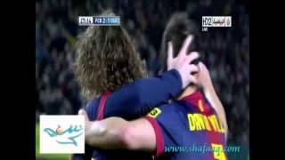 برشلونة 5-1 أوساسونا الدوري الأسباني 2013