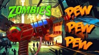 ZOMBIE RAYGUN CHALLENGE (Black Ops 3 Custom Zombies)