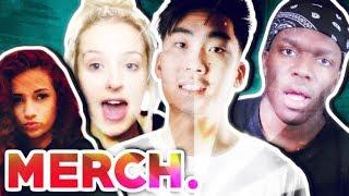 Your Merch Sucks! (RiceGum, KSI, Tana, Bhad Bhabie)