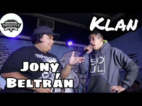 Klan 🇦🇷 VS Jony Beltran 🇲� Liga de Freestyle Monterrey
