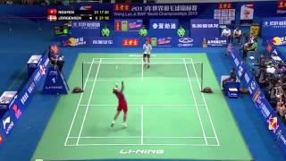 Longest rally in badminton history (Men´s singles)