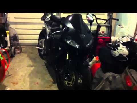 Two brothers Exhaust Installation - 05 CBR 600rr