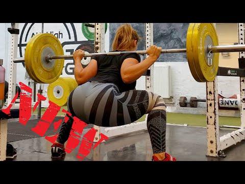 M i a - DENMARK ♡ Bigger Butt Exercises - Building Massive Butt [Fitness Gym]