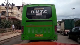 BMTC Bus Breaking Red Signal
