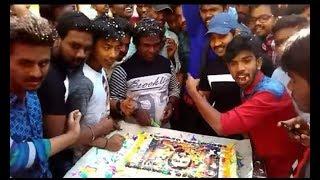 S3 Grand celebration by | singam surya fans | Anjan Theatre | Bangalore.