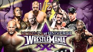 WWE WRESTLEMANIA 30 FULL SHOW!!! | PART 1