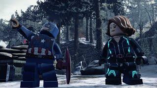 LEGO Marvel's Avengers - Black Widow & Captain America Team-Up!
