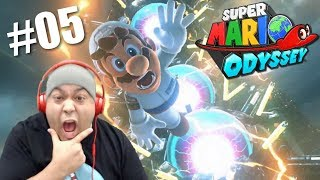 WE MADE IT TO THE CITY MAH BOYS!! [SUPER MARIO ODYSSEY] [#05]