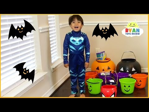 Trick or Treat Halloween carnival games for kids