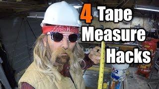 4 Tape Measure Hacks You Never Heard Of   THE HANDYMAN  