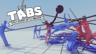 TABS - New Units! Flail, Pikeman, and Hoplites! - Totally Accurate Battle Simulator