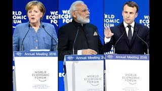 WORLD LEADERS TAKE TURNS TRASHING TRUMP BEFORE HE LANDS IN DAVOS
