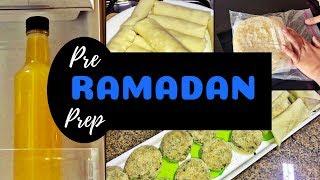 Ramadan Pre-Prep | Perfect Homemade Spring Roll Sheets, Frozen Paratha, Orange Lemon Squash