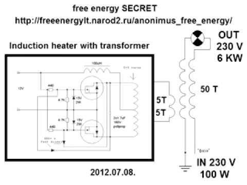 Простой генератор свободной энергии