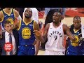 Raptors fans cheer after Kevin Durant goes down   2019 NBA Finals   Golic and Wingo