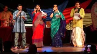Udichi reciting 2015 04 19 Bengali new year 1422 celebration