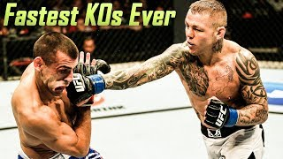 Lightening Fast Knockouts - World's Fastest KOs Of All Time