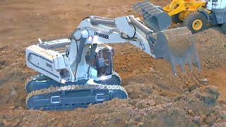 LIEBHERR 960 -  Detailed and strong RC machines!