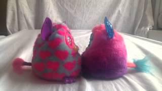 Como mudar as personalidades do Furby Boom Crystal Series