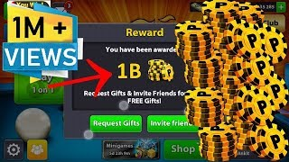8 Ball Pool HOW TO GET 1Billion Coins Free + Legendary cues | No Hack | No Cheat
