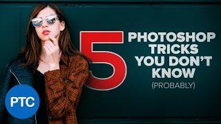 5 Photoshop TRICKS You Don't Know - Pt. 3 - Photoshop Tips & Tricks