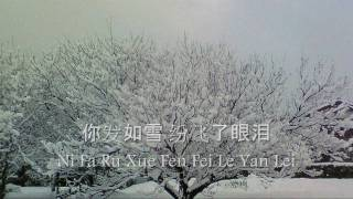 Hair Like Snow(发如雪) (Pinyin and Character Sub.)