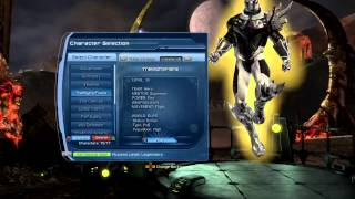DCUO   Flying Characters Menu Glitch