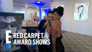 Tracee Ellis Ross Gushes Over Brother Evan's Art | E! Live from the Red Carpet