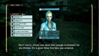 Metal Gear Rising Solid Snake and Rose references