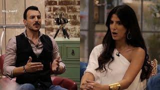 قعدة رجالة - باسل خياط كسر الاستوديو 😱 .. بسبب عصبيته من كارمن بصيبص .. أنا بعتذر اتعصبت شوية