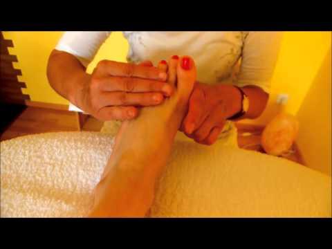 Fußmassage in Elinas Wohlfühloase