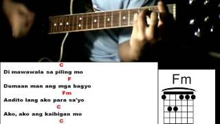 Kaibigan Mo - Sarah G feat. Yeng Constantino - Guitar Chords