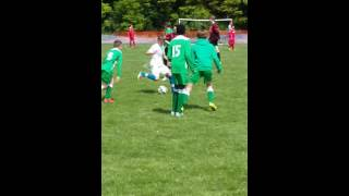 Elliott Behan showing his skill