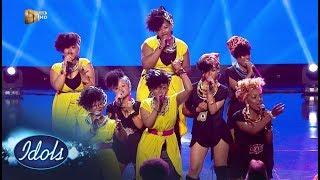 Top 16 Girls – 'Only Girl In The World' / 'We Found Love' – Idols SA | Mzansi Magic