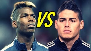 James Rodriguez Vs Paul Pogba - Who scores the Best Goals ? | Crazy Goals Show 1080 HD