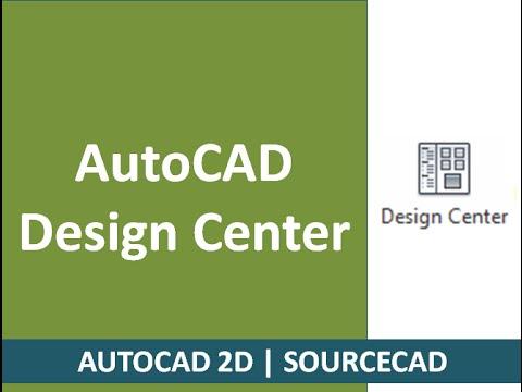 AutoCAD design centre complete tutorial