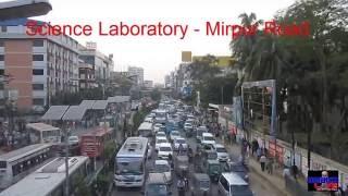 DHAKA TRAFFIC JAM 2016   Traffic Jam of Dhaka City - Science Laboratory, Bangladesh, Part-7 HD