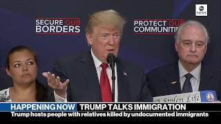 Pres. Donald Trump gives remarks on immigration with