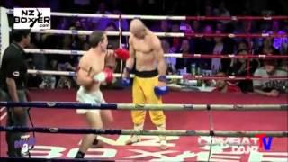Yi Long, Shaolin Monk who resists K O !  Boxing ! MMA