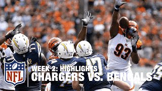 Chargers vs. Bengals | Week 2 Highlights | NFL