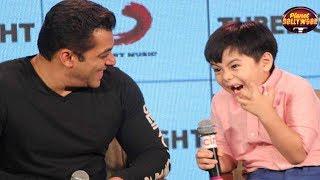 Salman Khan & Little Matin Rey