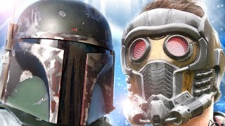 BOBA FETT vs STAR-LORD - Super Power Beat Down (EPISODE 22)